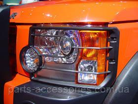 Захисні накладки на передні фари Land Rover Discovery 3 III 2005-09 Нові