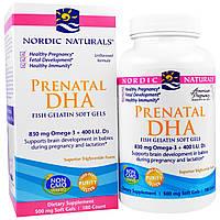 """Nordic Naturals, """"Пренатал ДГК"""", препарат для поддержания уровня докозагексаеновой кислоты (DHA), в капсулах из рыбного желатина, без ароматизаторов,"""