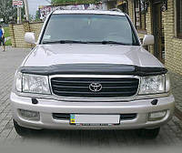 Мухобойка, дефлектор капота Toyota Land Cruiser 100