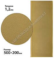 Полиуретан SELECT на тканевой основе, р. 500*190*1,2 мм цв. золото