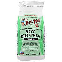 Bob's Red Mill, Соевый белок в порошке, 14 унций (396 г)