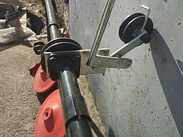 Косилка роторная на мотоблок трехдисковая, фото 2