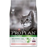 Purina Pro Plan Sterilised, корм для стерилизованных кошек с лососем  0,4 к