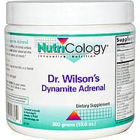 Nutricology, Dr. Wilson's пищевая добавка для надпочечников, 300 г