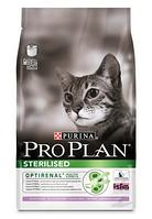 Purina Pro Plan Sterilised, корм для стерилизованных кошек с индейкой  0,4 к