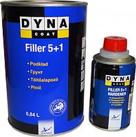 Комплект грунт + отвердитель Dynacoat Filler 5 + 1 Dynacoat 1л