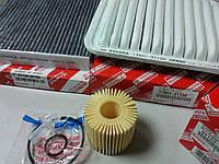 Комплект фильтров оригинальных на Toyota Camry (3.5)