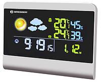 Оригинальная домашняя метеостанция с цветным BTN-дисплеем TemeoTrend Colour RCC grey/серая Bresser  923268.