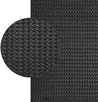 КОСИЧКА (Украина), р. 500*650*3 мм, цв. чёрный - резина подметочная/профилактика листовая