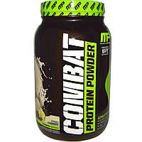 Muscle Pharm, Combat, белок в форме порошка, ваниль, 32 унции (907 г)