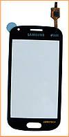 Сенсор (тачскрин) Samsung GT-S7562 Galaxy S Duos Black Original