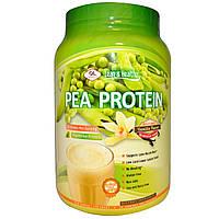 Olympian Labs Inc., Lean & Healthy , Гороховый протеин с ванильным вкусом, 736 г
