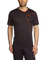 Футболка спортивная, мужская PUMA CT Tech Burn Out Men's Short-Sleeved Sports Shirt 509796 01 пума