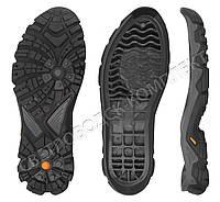 Подошва для обуви JB 4743, черно-серая с желтой вставкой 41
