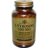 Solgar, L-Tyrosine, 500mg, 100 Veg Caps