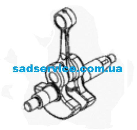 Коленвал для мотокосы Solo 137SB, 142, 154, 155