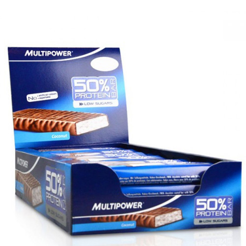 Multipower 50% Protein Bar 24шт х 50г