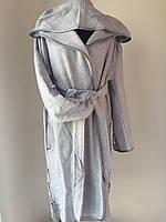 """Серебристый халат с аппликацией  тм """"Nusa"""""""