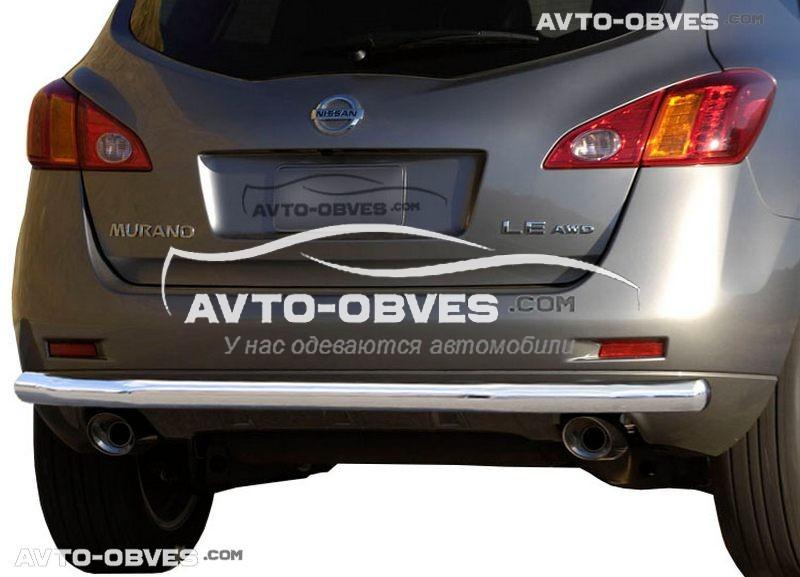 Защита заднего бампера для Nissan Murano 2009-2014 (п.к. AK)
