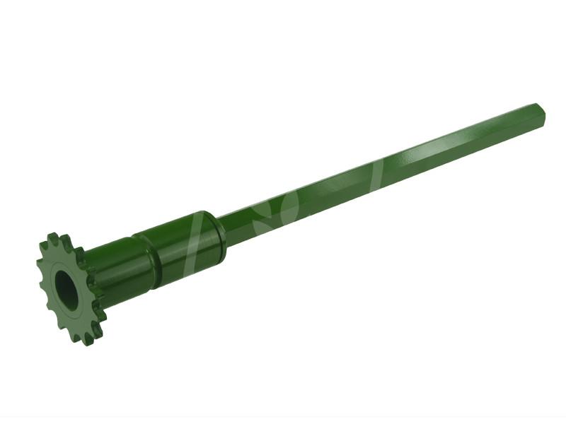 Вал звездочки жатки L=500mm AGV для John Deere AZ24206