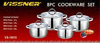 Набор посуды Vissner VS 10810 (4 кастрюли)