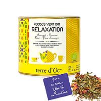 Органический зелёный чай Ройбуш для релаксации, 100г Terre d'oc