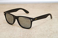 Солнцезащитные очки Ray Ban Wayfarer 2140 зеркальная линза