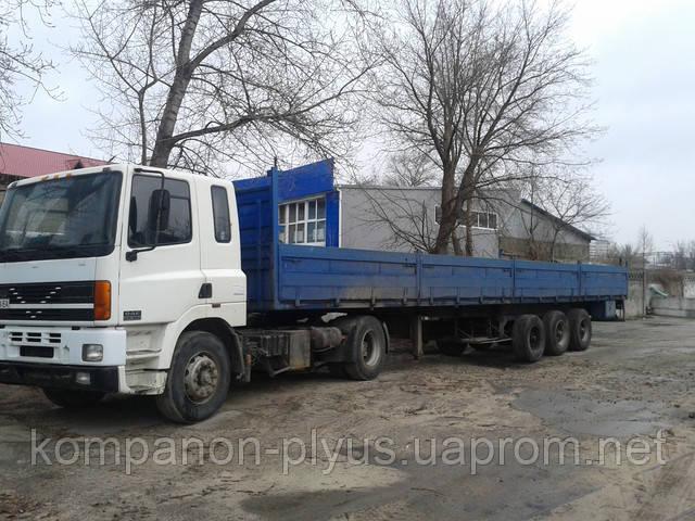 Услуги бортовых грузовиков длиной 3-14 метров. Аренда длинномеров, перевозка ларьков, киосков, вагончиков, бытовок.