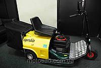 Газонокосилка–трактор бензиновая «Sgorbio» с сиденьем