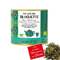 Органический зелёный чай для стройной фигуры, 100г Terre d'oc