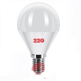 Светодиодная LED лампа G45 5.0W 220В E14 4100К