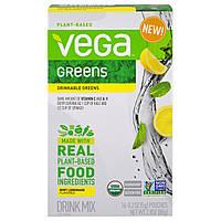 Vega, Питьевая зелень, мятный лимонад, 16 пакетиков, по 0,2 унции (5 г) каждый