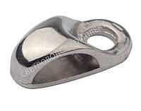 Петля под шнурок, А-608, цв. никель, фото 1