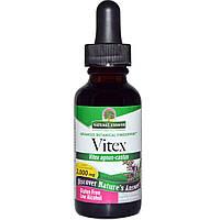 Nature's Answer, Витекс, с низким содержанием спирта, 2000 мг, 1 жидкая унция (30 мл)