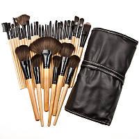Профессиональный набор кистей для макияж на 32 шт