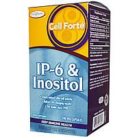 Enzymatic Therapy, Селл Форте, IP-6 с инозитолом, восстановление иммунитета, 240 растительных капсул