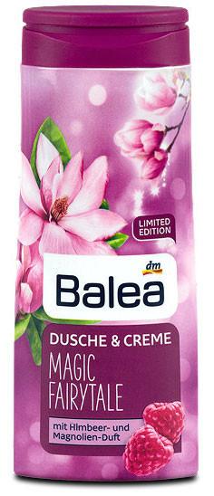 Крем-Гель для душа Balea Magic Fairytale с ароматом малины и магнолии 300мл