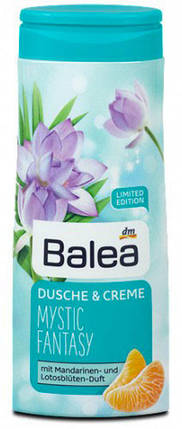 Крем-Гель для душа Balea Mystic Fantasy с ароматом мандарина и лотоса 300мл, фото 2