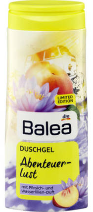Гель для душа Balea Abenteuer-Lust с ароматом персика и лилии 300мл, фото 2