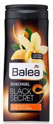 Гель для душа Balea Black Secret с ароматом ванили и апельсина 300мл, фото 2