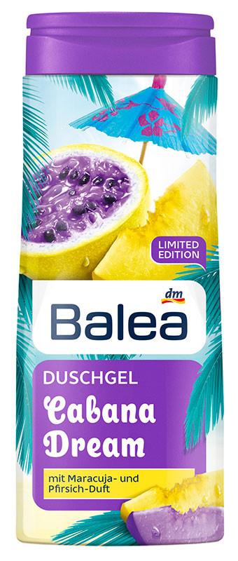 Гель для душа Balea Cabana Dream с экстрактом маракуйи и фруктовым ароматом 300мл