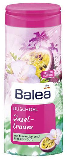 Гель для душа Balea Insel Traum с ароматом маракуйи  и фрезии 300мл