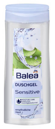 Гель для душа Balea Sensitive для чувствительной кожи 300мл, фото 2