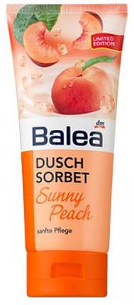 Гель для душа Balea Sorbet Sunny Peach 200мл тюбик, фото 2