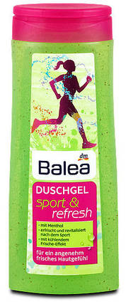 Гель для душа Balea Sport & Refresh 300мл, фото 2