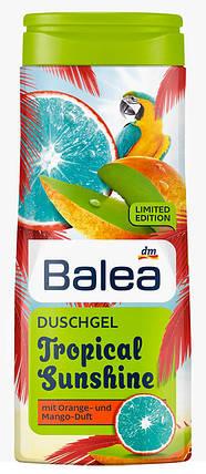 Гель для душа Balea Tropical Sunshine с ароматом манго и апельсина 300мл, фото 2