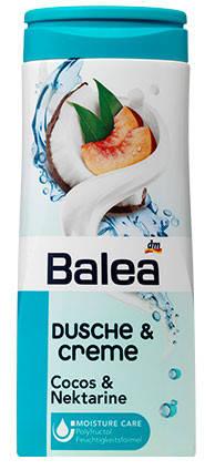Гель для душа Balea с ароматом кокоса и нектарина 300мл, фото 2