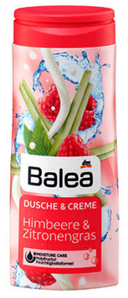 Гель для душа Balea с ароматом малины и лимонной травы 300мл, фото 2