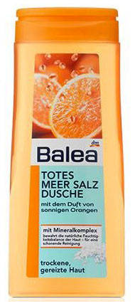 Гель для душа Balea с солью мертвого моря и ароматом апельсина 300мл, фото 2