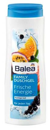 Гель для душа семейный Balea Frische Energie с фруктовым ароматом 500мл , фото 2